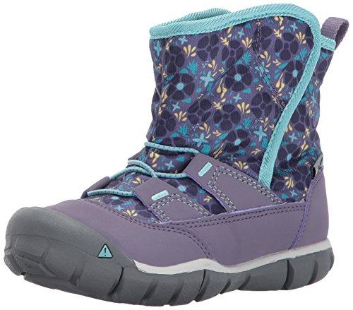 Image of the KEEN Peek-A-Boot, Montana Grape/Aqua Haze, 9 Toddler US