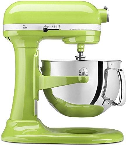 KitchenAid KP26M1XGA 6 Qt. Professional 600 Series Bowl-Lift Stand Mixer – Green Apple
