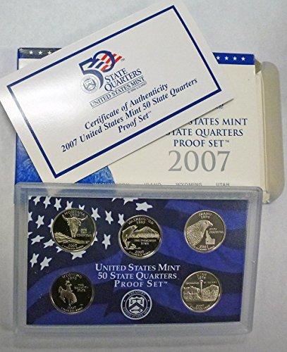 - 2007 S Statehood Quarters Proof Set Original Mint