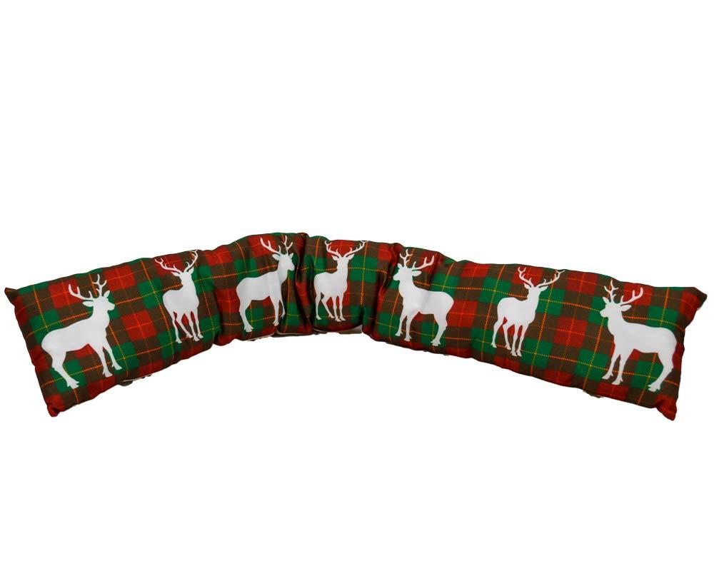 Fair Paraspifferi Natalizio 86 x 14 x 5 cm Salamotto Decorato con Renne di Natale ShopOnline Verde