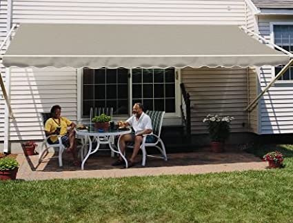 promo code 58569 17f4c Sunsetter 16FT Sage 1000XT Retractable Awning