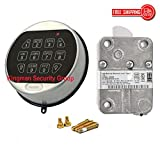 Kaba Mas LA GARD II Basic Electronic Combination Lock (Satin Chrome)