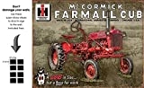 Shop72 - McCormick Farmall Cub Tin Sign Retro Vintage Distrssed - With Sticky Stripes No Damage to Walls
