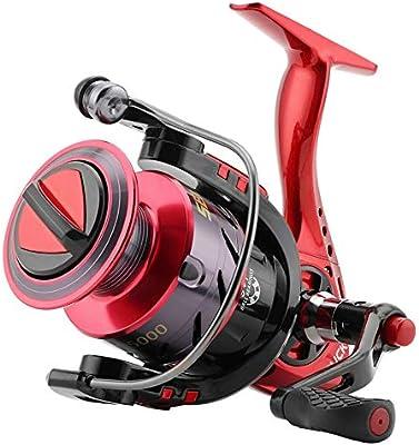 2000 3000 4000 5000 Spinning Carrete 5.2:1 Carrete De Pesca 9KG ...