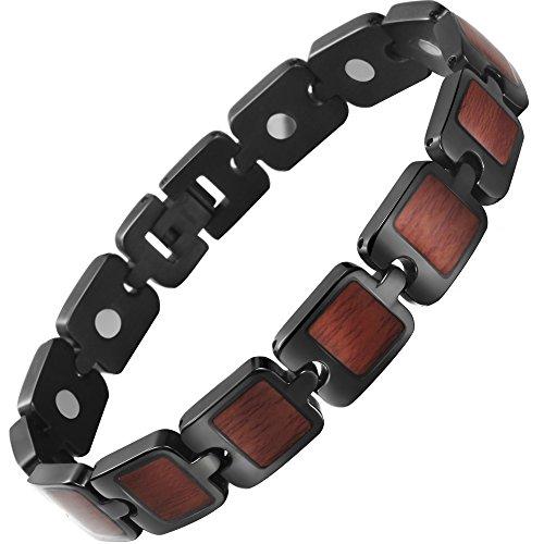 VITEROU Titanium Magnetic Therapy Bracelet
