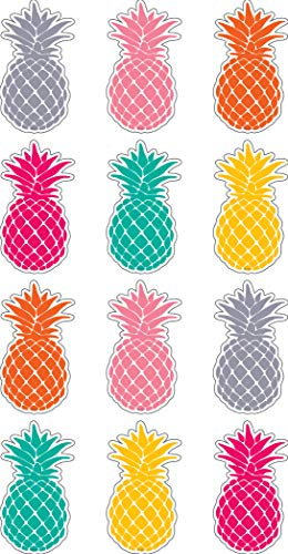 (Teacher Created Resources Tropical Punch Pineapples Mini Accents)