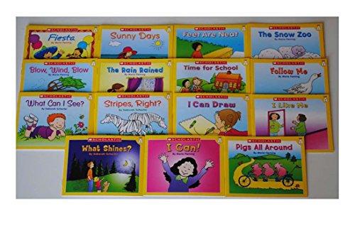 15 book lot Level A Easy Leveled Readers Homeschool Preschool Kindergarten Kids - 8 pages each