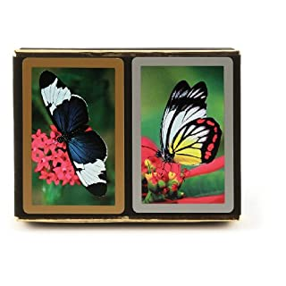 Congress Butterfly Playing Cards - Standard Index (Pack of 2), Multicolor