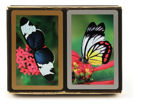Congress Butterfly Standard Index Playing Cards (Pack of 2) (Deck Pattern One)