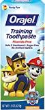 Orajel Toddler Training Toothpaste Tooty Fruity Flavor 1.50 Oz (Pack of 4)