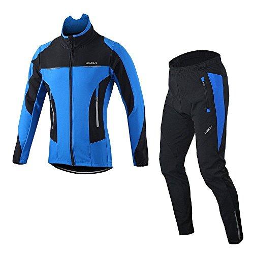 Lixada Men's Jacket Winter Waterproof Thermal Breathable Cyc