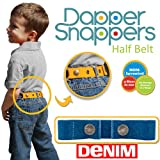Dapper Snapper Made in the USA Baby & Toddler Adjustable Belt-Denim