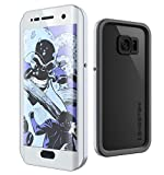 Galaxy S7 Edge Waterproof Case, Ghostek Atomic 2.0 Series for Samsung Galaxy S7 Edge (Silver)