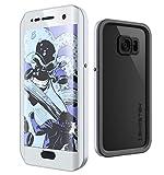 Galaxy S7 Edge Waterproof Case, Ghostek Atomic 2.0 Series for Samsung Galaxy S7 Edge (Silver)