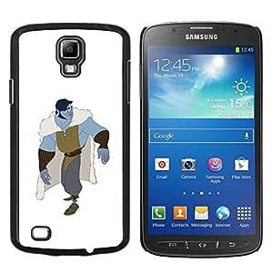 """For Samsung Galaxy S4 Active i9295 Case , Blanca Blue Monster héroe Carácter"""" - Diseño Patrón Teléfono Caso Cubierta Case Bumper Duro Protección Case Cover Funda"""