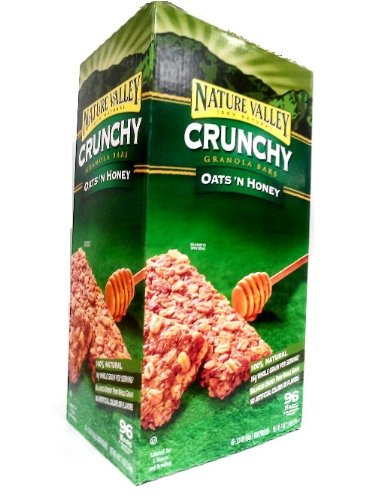 Nature Valley Oat and Honey Bars, 96 Count
