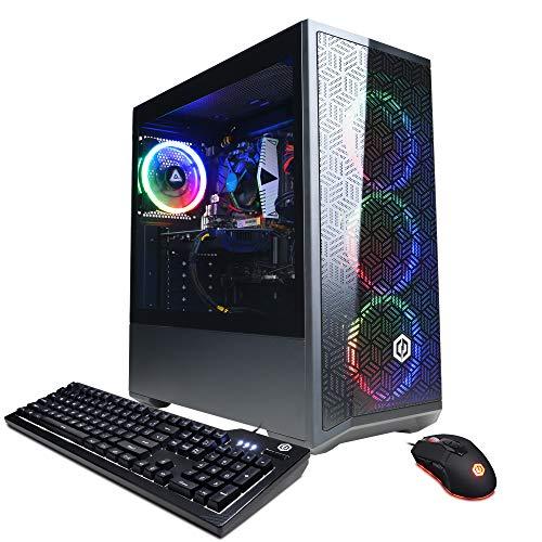 CyberpowerPC Gamer Xtreme VR Gaming PC, Intel i5-10400F 2.9GHz, GeForce GTX 1660 Super 6GB, 8GB DDR4, 500GB NVMe SSD, Wi…