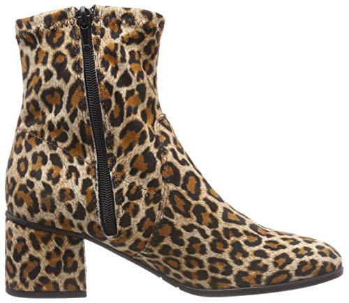 Tamaris Marron 25945 360 Botines leopard 21 Femme wwUxTg7q