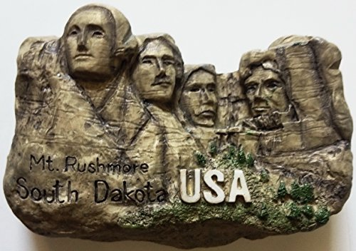 Mt. Rushmore South DAKOTA Resin 3D fridge Refrigerator Thai Magnet Hand Made Craft. by Thai MCnets