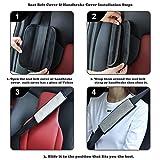 Valleycomfy Microfiber Leather Seat Belt Shoulder