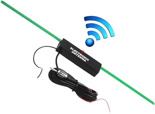 Antena amplificada Oculta para Auto, Radio estéreo FM Am, Kit ...