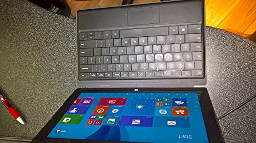 Microsoft Surface RT 32GB Tablet with Black TYPE cover (Renewed) (Microsoft Surface 2 32gb Windows Rt 8-1)