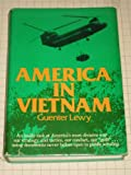 img - for America in Vietnam: Illusion, Myth and Reality by Lewy Guenter (1978-09-01) Hardcover book / textbook / text book