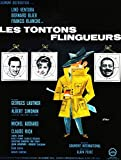 poster affiche lino ventura bernard blier les tontons flingueurs films a papa 50x59cmb amazon. Black Bedroom Furniture Sets. Home Design Ideas