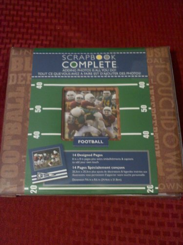 (Cr Gibson Tapestry Scrapbook Complete, Football)