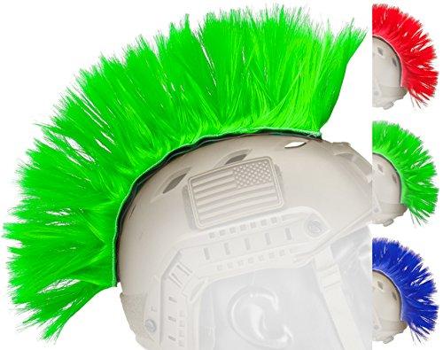 Evike Matrix Tacti-Cool Airsoft Helmet Crest Mohawk - Green - (50016)
