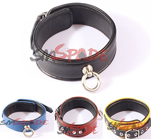 Happy the Best Real Leather Collar 100% Handmade Delicate Restraint Neck Cuffs Sex Toy Adult Products Sexy by Fifty Shades of Grey