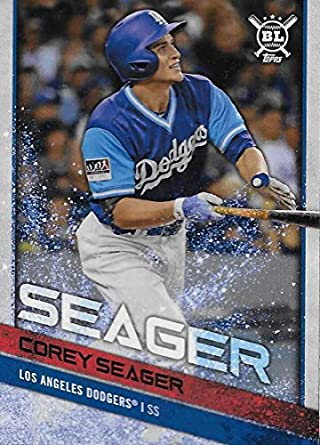 2018 Topps Big League Baseball Players Weekend Image Variations  80 Corey  Seager Los Angeles Dodgers 245658a7d5f
