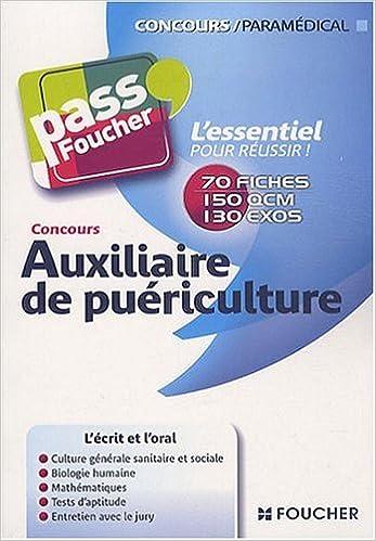 Lire Auxiliaire de puériculture pdf, epub