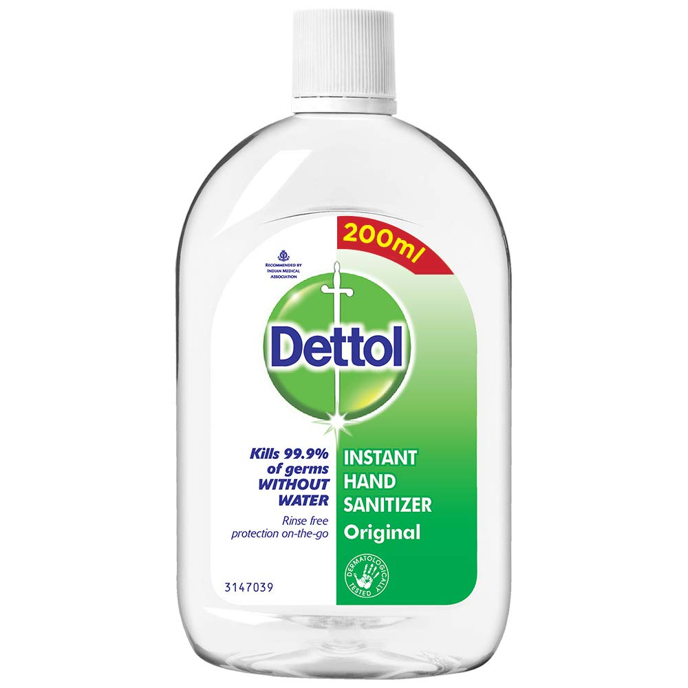 Dettol Original Germ Protection Alcohol-based Hand Sanitizer, 200ml