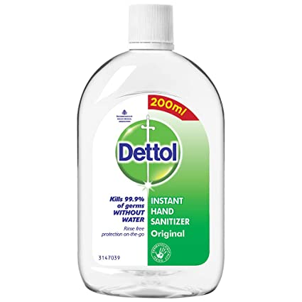 Dettol Original Germ Protection Alcohol based Hand Sanitizer