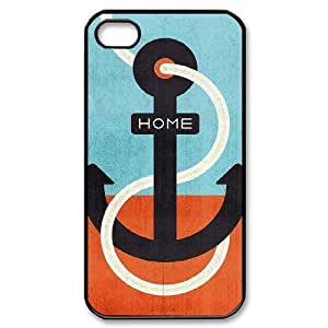 LZHCASE Diy Customized hard Case Anchor For Iphone 4/4s [Pattern-1]