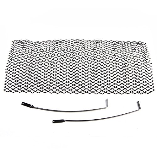 Rugged Ridge Black Gloss JK Jeep Wrangler Mesh Grille Insert