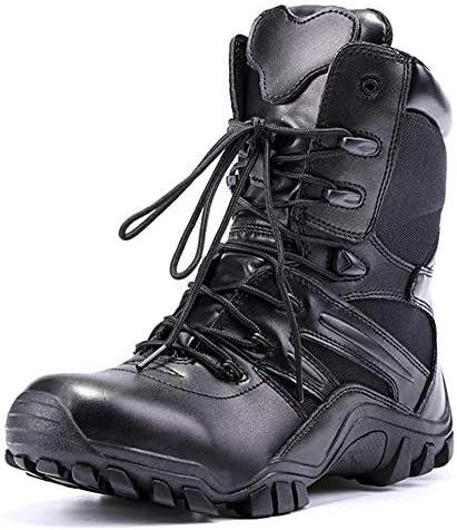 Armee wasserdichte Stiefel taktische atmungsaktive Stiefel Männer schwarz Militär Schuhe Side Zip Sneaker Wearable Combat Boots