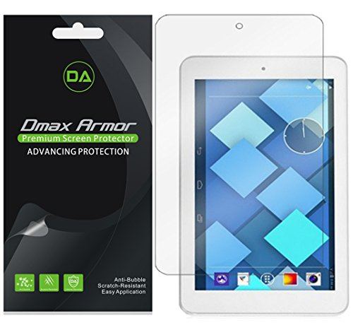 Dmax Armor [3-Pack] for Alcatel OneTouch Pop 7 Screen Protector High Definition Clear Shield (Alcatel One Touch X Pop)