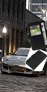 JackGot ( Postura RX7 Tuned ) Sony Xperia Z3 D6603 la tarjeta de Crédito Slots PU Funda de cuero Monedero caso cubierta de piel