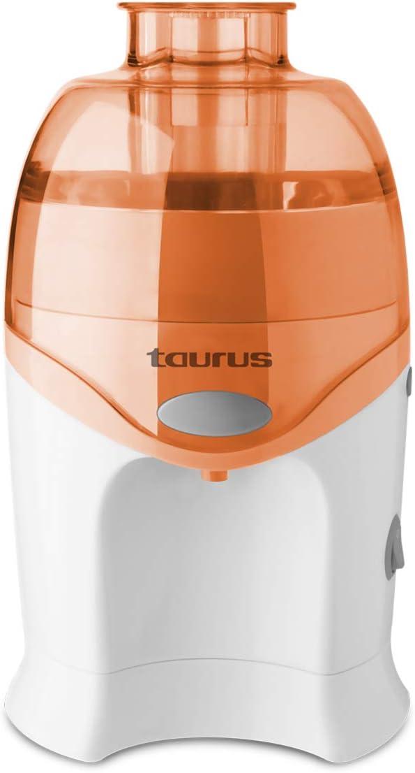 Taurus LC 640 - Licuadora centrifuga con sistema de vertido continuo, 250 W, rutas y verduras, Filtro de acero inoxidable, Desmontable, Fácil limpieza