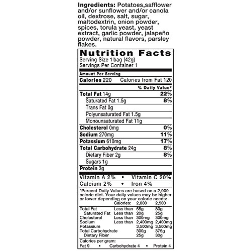 Kettle Brand Potato Chips, Jalapeno, 1.5 oz by KETTLE FOODS (Image #5)