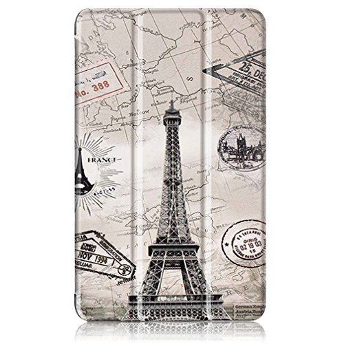 Magnetic for Fire Closure 1 Leather Flip HD PU Shy Pattern Leather Ultra Bookstyle Holster 10 Function LMAZWUFULM Inch Thin of Case Case 2017 Panda Foldable 10 5 Amazon Stent Leather Cover Pattern Cover with 6twqt5Z