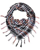 Multi-Colors Trendy Plaid & Houndstooth Check Soft Square Scarf