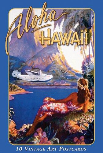 Island Postcard (Hawaiian Vintage Boxed Postcards Set of 10 - Vintage)