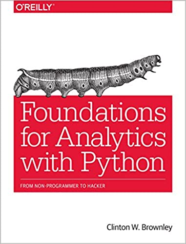 Amazon.com: Foundations for Analytics with Python: From Non ...