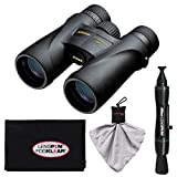 Nikon Monarch 5 8x42 ED ATB Waterproof/Fogproof Binoculars with Case + Cleaning & Accessory Kit