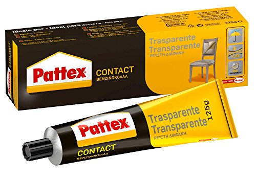 Pattex 1419322 Kontaktkleber, transparent, 125 g
