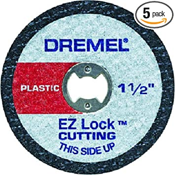Dremel Ez476 1 1 2 Inch Ez Lock Rotary Tool Cut Off Wheels For
