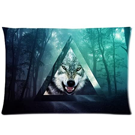 Custom Tumblr Fog Forests Hipster Pillowcase Queen Size 20x30 Inch